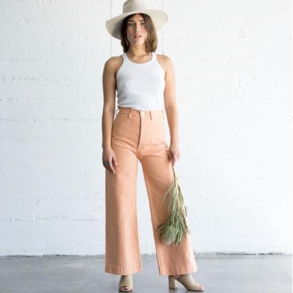 73966ff85b75 Jesse Kamm Pants | Sailor Pant Skin Tone 6 Size 4s | Poshmark